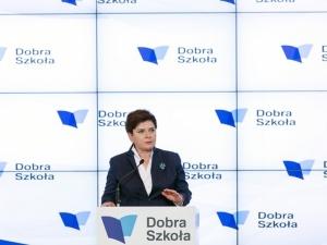 Premier Beata Szydło: Polska szkoła potrzebuje zmian