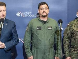 Minister Błaszczak zdradza szczegóły o wypadku MiG-29