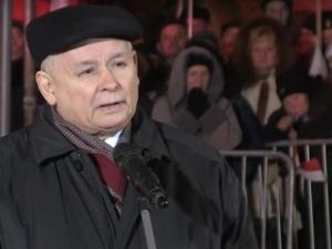 Kaczyński na Placu Piłsudskiego: Jego przykład buduje przekonanie o tym, że zwyciężymy. Wbrew wszystkiemu