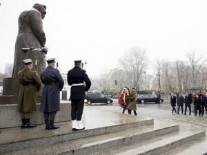 Premier Beata Szydło upamiętniła marszałka Józefa Piłsudskiego