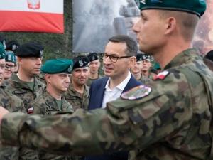 Wczoraj premier odwiedził polskich żołnierzy na Łotwie