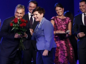 Premier Węgier Viktor Orban został Człowiekiem Roku Forum Ekonomicznego w Krynicy