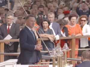[video] Prezydent Duda: Chciałem oddać Wam głęboki pokłon za niezłomność w staniu przy polskiej ziemi