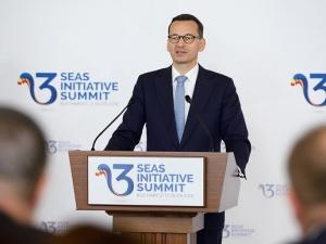 """[video] Mateusz Morawiecki na szczycie Trójmorza: """"Dziś widać było, że 12 państw zacieśnia swoje więzy"""""""