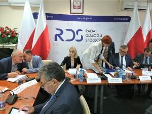 Budżet i aktywne starzenie się na posiedzeniu plenarnym Rady Dialogu Społecznego.