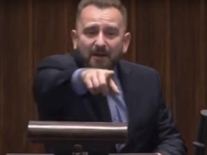 """[Wideo] Mocne spięcie Bartłomieja Arłukowicza i Liroya w Sejmie. """"Musimy patrzeć na wasze złodziejstwo"""""""