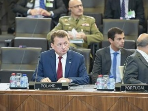 Kolejna rozmowa ministra Błaszczaka z Jamesem Mattisem w sprawie stałych baz w Polsce