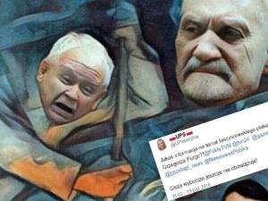 """""""Ciekawe jakie wafelki lubi poseł Furgo"""". Internauci kpią z """"afery plakatowej"""" z udziałem posła PO"""