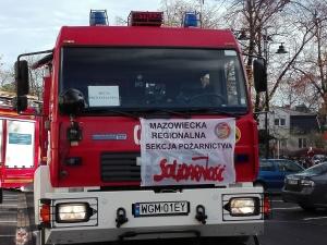Koniec strajku policjantów i strażaków. MSWiA uległo żądaniom związków zawodowych