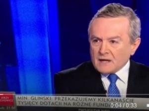 Prof. Gliński: Przykro mi, że w TVP - po zmianie, na którą harowałem tyle lat - jest taki dom wariatów!