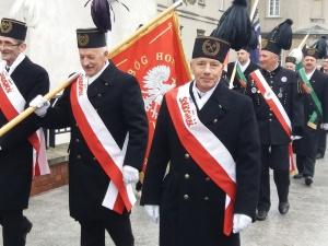 """[fotorelacja]  XXVIII Pielgrzymka Górników na Jasną Górę - """"Św. Barbaro prowadź nas do Królowej Polski"""""""