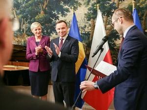 Prezydent Andrzej Duda z Małżonką rozpoczęli trzydniową oficjalną wizytę w Szwecji