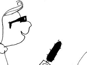 """[Kliknij aby zobaczyć całość] Nowy rysunek Krysztopy """"Obrońca demokracji"""""""