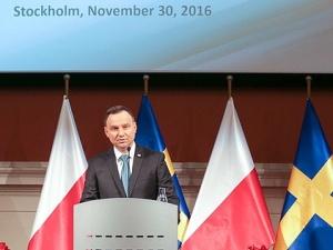 """Prezydent Andrzej Duda: """"Innowacyjność to połączenie wielkich umysłów, idei i inicjatywy"""""""