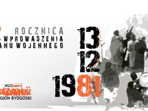 Obchody rocznicy wprowadzenia stanu wojennego w Bydgoszczy