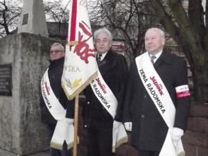 Regionalne obchody 37. rocznicy ogłoszenia stanu wojennego w Radomiu