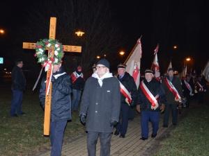 Łowicz. Relacja z obchodów 37 rocznicy stanu wojennego