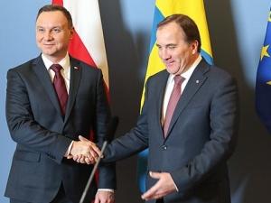 Spotkanie Prezydenta RP i Premiera Królestwa Szwecji