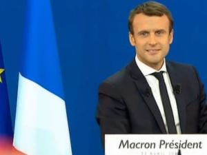 Francja: Poparcie dla Macrona wzrosło do 27%