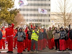 Potężny strajk w węgierskiej fabryce Audi!