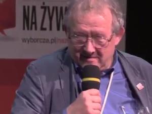 """Michnik: """"Był wspaniałym człowiekiem"""", po upadku rządu Olszewskiego GW publ. """"Nienawiść"""" Szymborskiej"""
