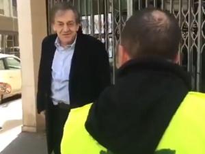 """[video] Antysemicki atak na konserwatywnego filozofa we Francji: """"Brudny Żydzie, zginiesz"""""""