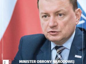 """Najnowszy numer """"TS"""": Minister Obrony Narodowej Mariusz Błaszczak: """"Przyspieszamy"""""""