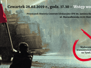 """Już w czwartek (17:30) premiera cyklu """"Ludzie Wolności i Solidarności"""" - transmisja na Tysol.pl"""