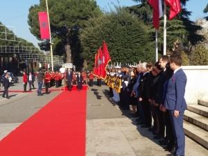 Premier Beata Szydło w Tiranie: Polska wspiera europejskie aspiracje Albanii