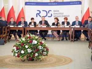 [Wideo] Prezydent Andrzej Duda i przewodniczący Solidarności Piotr Duda na Radzie Dialogu Społecznego