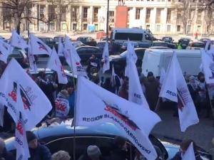 """[video] """"Jak nie chcą rozmawiać w gabinetach, porozmawiamy na ulicach"""". Protest nauczycieli na Śląsku"""