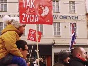 [video] Narodowy Marsz Życia 24 marca na Placu Zamkowym w Warszawie