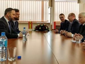 Entuzjastyczne komentarze Hiszpanów po spotkaniu lidera hiszpańskiej partii Vox z Jarosławem Kaczyńskim