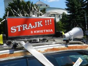 Będzie blokada Warszawy? Taksówkarze zaprotestują przeciwko nielegalnym przewozom osób