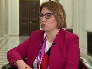 """B. Mazurek: """"Politycy PO mówią wielkie słowa, a kończy się tak, że w PE głosują wbrew polskim interesom"""""""
