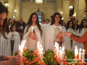 Aleppo: Sakrament Bierzmowania w parafii pw. św. Franciszka przyjęło 37 osób