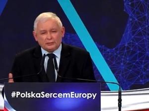 """[video] Jarosław Kaczyński: """"Mówimy """"nie"""" euro (...) kiedyś przyjmiemy, gdy będzie to w naszym interesie"""""""