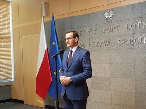 """PMM wylatując do Brukseli: """"Prawdopodobnie dla Polski będzie bardziej korzystny budżet niż planowaliśmy"""""""