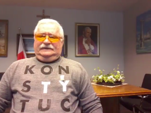 """[video] Wałęsa: """"Trzeba uzgodnić 10 przykazań, ale laickich, a nie kościelnych"""""""