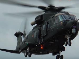 Minister Błaszczak podpisał umowę na dostawę czterech śmigłowców AW101 dla Marynarki Wojennej