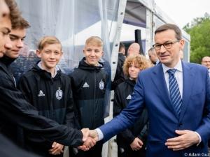 Premier zainaugurował budowę najnowocześniejszego ośrodka sportowo-naukowy w Polsce