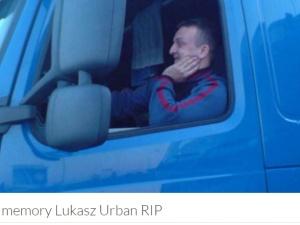 """Koledzy zbierają pieniądze dla rodziny zamordowanego w Niemczech Łukasza Urbana:""""Bronił pojazdu do końca"""""""