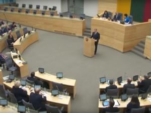 Litewski Sejmas podjął rezolucję wzywającą do poprawy stosunków z Polską