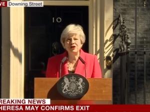 [video] Pilne! Premier Wielkiej Brytanii Theresa May podała się do dymisji