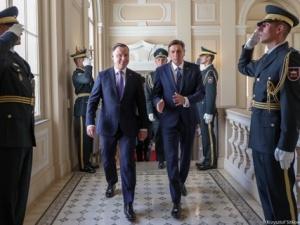 Prezydent na Słowenii. Na szczycie ma nastąpić otwarcie Forum Biznesu Państw Inicjatywy Trójmorza