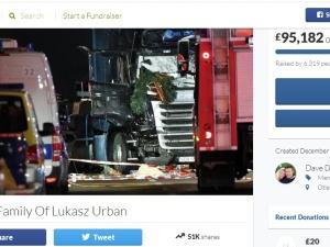 """""""Chciałem po prostu pomóc"""" - brytyjski kierowca tirów zbiera pieniądze dla rodziny Łukasza Urbana"""