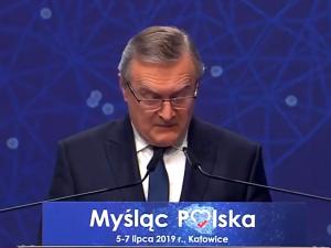 Prof. Gliński na konwencji PiS: Najważniejsza jest wiara w możliwości człowieka i miłość Boga