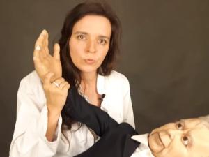 """K. Feusette: """"Jak to jest, że pani Piela za filmik z lalką Owsiaka została zaszczuta, a pani Jachira..."""""""
