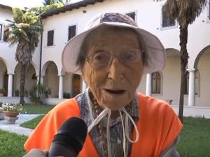 95-letnia kobieta dotarła pieszo z Włoch do Częstochowy