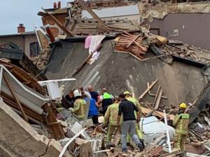 Belgia: Potężna eksplozja w Antwerpii. Zawaliły siętrzy budynki